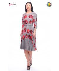 Rochie de zi Fofy cu imprimeu floral