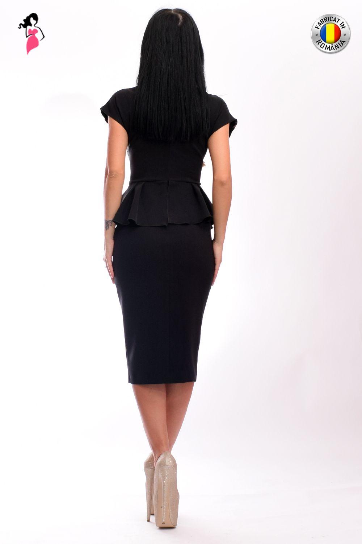 stil de moda diferit jumatate din Rochie de ocazie mulata pe corp din material elastic cu aplicatie ...